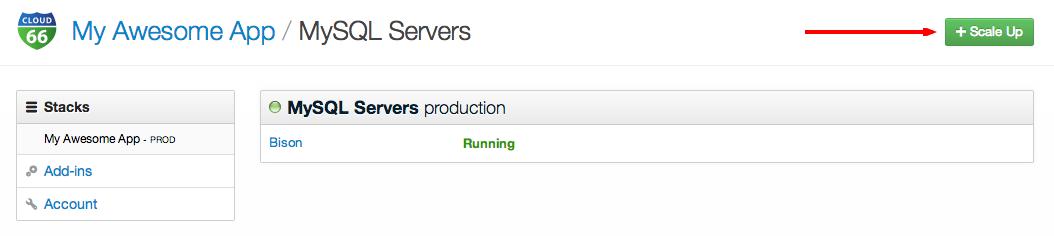 Database scaling